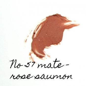 Rouge à lèvres minéral Eugénie Prahy ls57mat - Couleur swatch