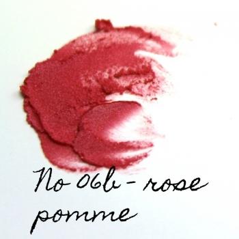 Rouge à lèvres minéral Eugénie Prahy ls06b - Couleur swatch