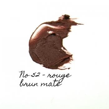 Rouge à lèvres minéral Eugénie Prahy ls52mat - Couleur swatch