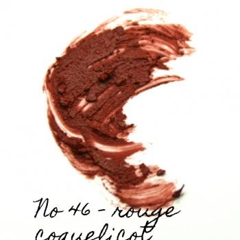 Rouge à lèvres minéral Eugénie Prahy ls46mat - Couleur swatch