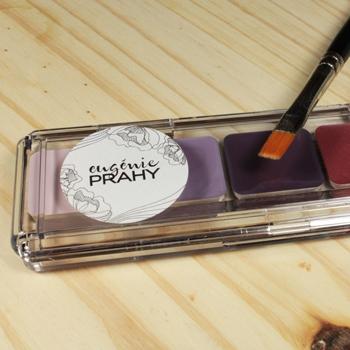 Palette ombre minérale crème eugenie prahy clp04 - palette