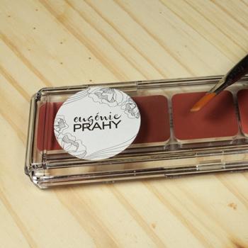 Palette rouges à lèvres minéral Eugénie Prahy 03 - palette