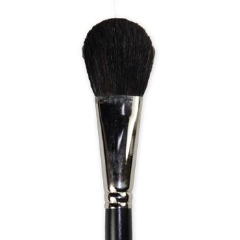 Tête de pinceau blush en poils de chèvres noires, marque Léonard